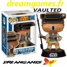 Figurine Pop Star Wars 50 Princess Leia Boushh VAULTED