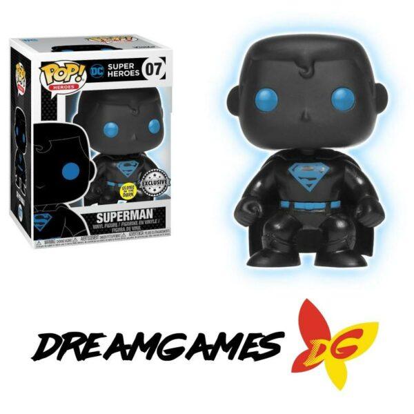 Figurine Pop Superman silhouette 07 GITD