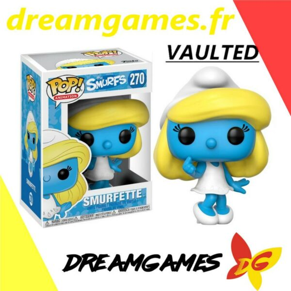 Figurine Pop The Smurfs 270 Smurfette