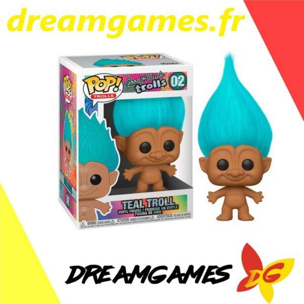 Figurine Pop Trolls 02 Teal Troll