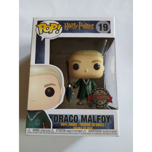 Figurine Pop Harry Potter 19 Draco Quidditch 2
