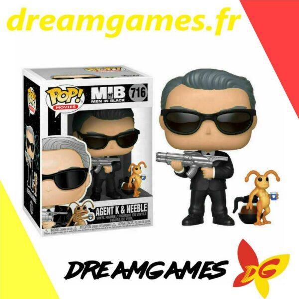 Figurine Pop Men in Black 716 Agent K & Neeble