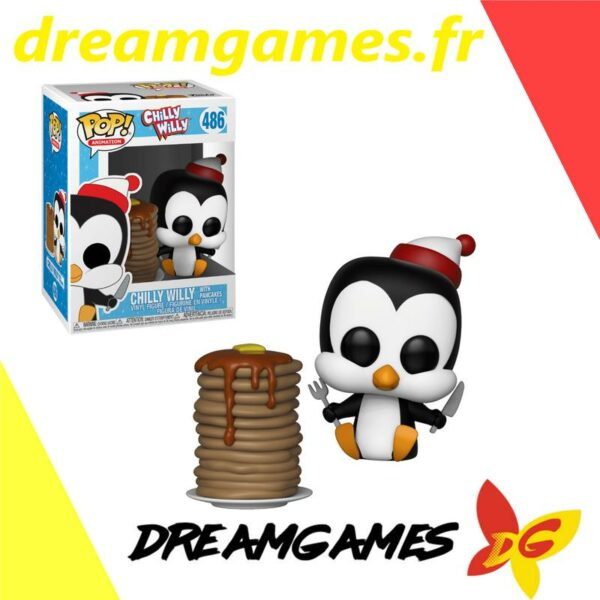 Figurine Pop Chilly Willy 486 with pancakes