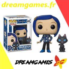 Figurine Pop Coraline 422 Coraline with cat