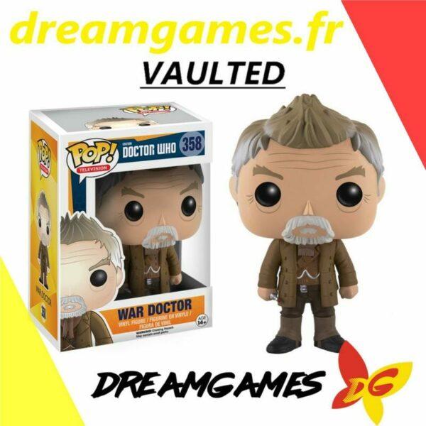 Figurine Pop Doctor Who 358 War Doctor VAULTED 1