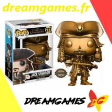Figurine Pop Pirates of the Caribbean 273 Jack Sparrow Gold