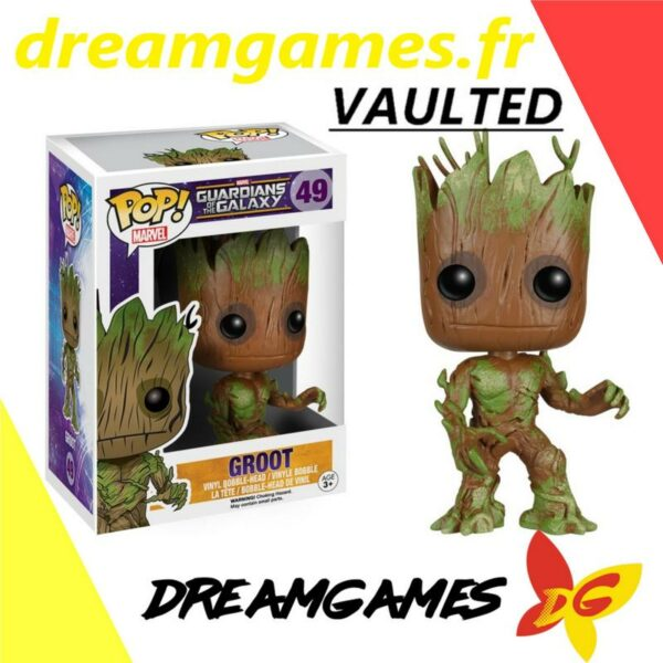 Figurine Pop Marvel 49 Groot VAULTED