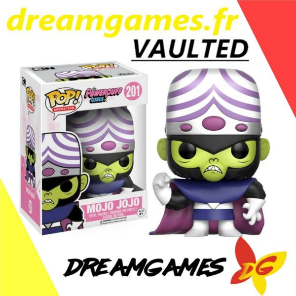 Figurine Pop Powerpuff Girls 201 Mojo Jojo VAULTED
