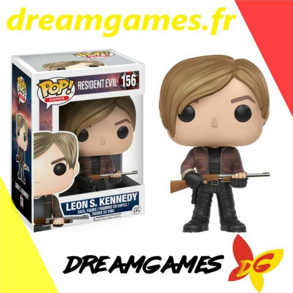 Figurine Pop Resident Evil 156 Leon S. Kennedy