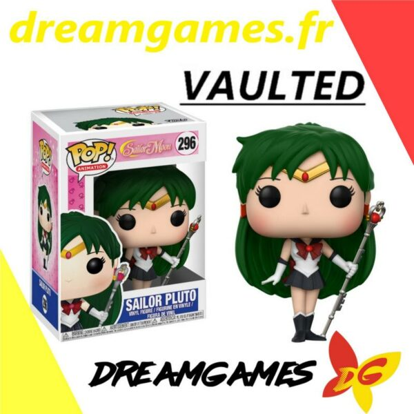 Figurine Pop Sailor Moon 296 Sailor Pluto VAULTED