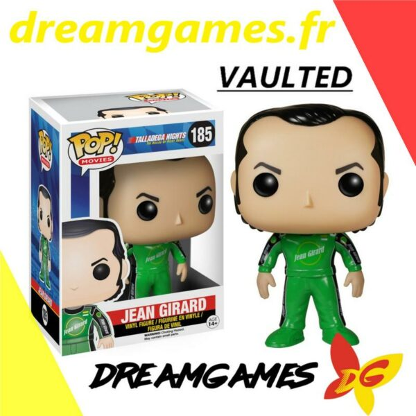 Figurine Pop Talladega Nights 185 Jean Girard VAULTED