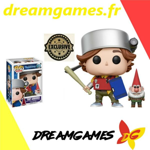 Figurine Pop Trollhunters 473 Toby Armored Exclusive