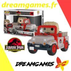 Figurine Pop Jurassic Park 39 Park Vehicle