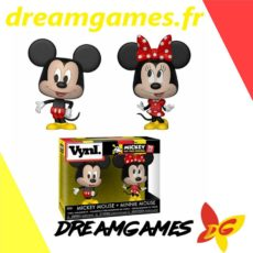 Figurines Vynl Mickey Mouse + Minnie Mouse