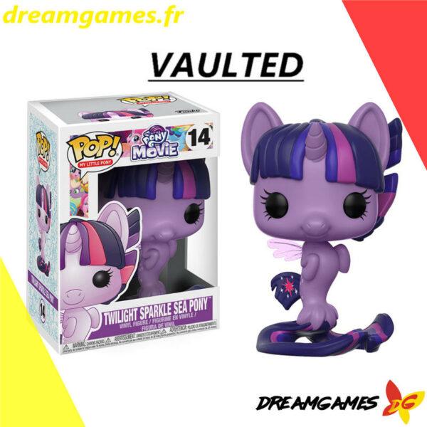 Figurine Pop My Little Pony the Movie 14 Twilight Sparkle Sea Pony VAULTED