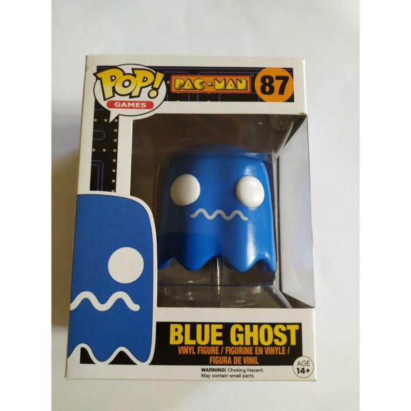 Figurine Pop Pac Man 87 Blue Ghost VAULTED 1