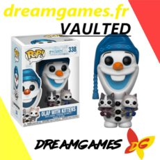 Figurine Pop Disney 338 Olaf with Kittens VAULTED