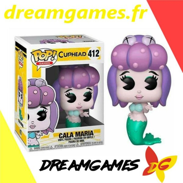 Figurine Pop Cuphead 412 Cala Maria