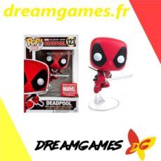 Figurine Pop Marvel 123 Deadpool leaping