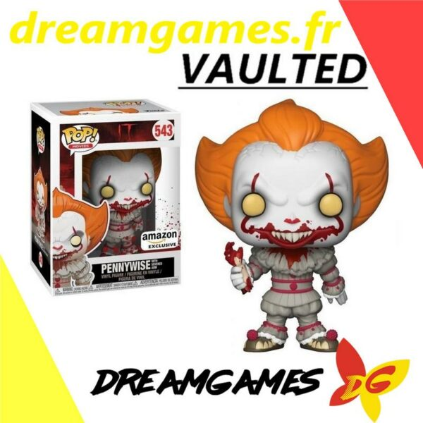 Figurine Pop IT 543 Pennywise severed arm