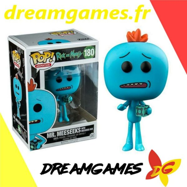 Figurine Pop Rick and Morty 180 Mr Meeseeks with box
