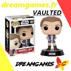 Figurine Pop Star Wars 107 General Leia VAULTED