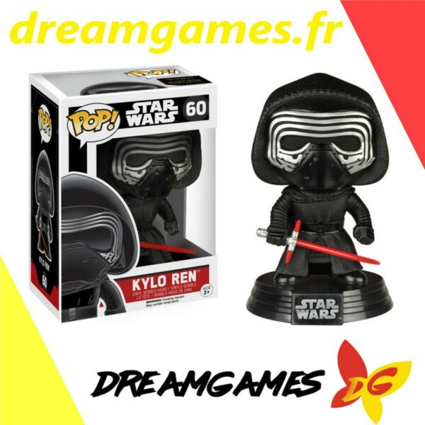 Figurine Pop Star Wars 60 Kylo Ren