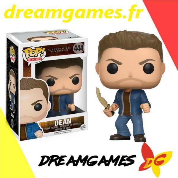 Figurine Pop Supernatural 444 Dean with blade
