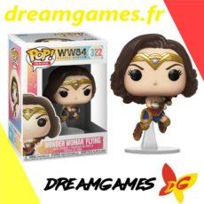Figurine Pop Wonder Woman flying 322