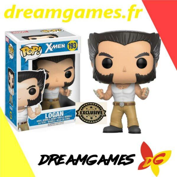 Figurine Pop X Men 193 Logan Exclusive