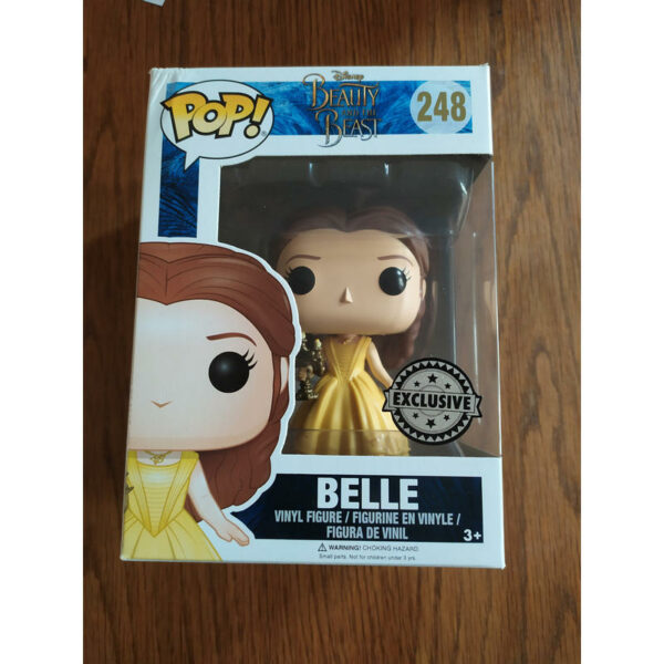Figurine Pop Beauty and the Beast 248 Belle with candlestick (Not mint) 1