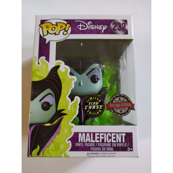 Figurine Pop Disney 232 Maleficent Chase Special Edition 1