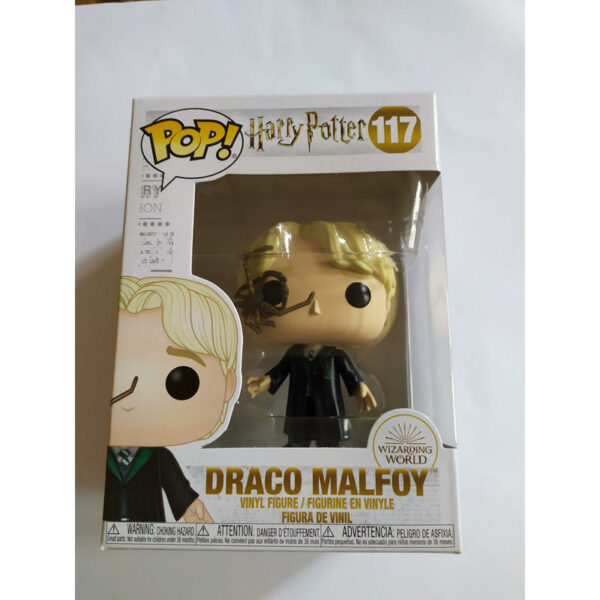 Figurine Pop Harry Potter 117 Draco Malfoy with whip Spider 1