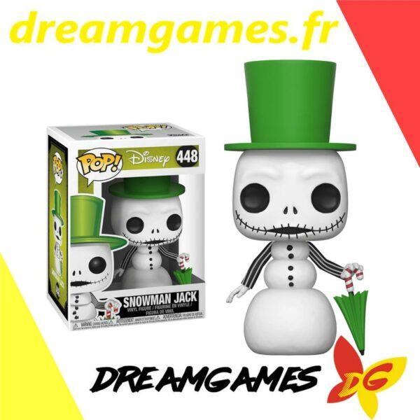 Figurine Pop Disney NBC 448 Snowman Jack