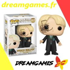 Figurine Pop Harry Potter 117 Draco Malfoy with whip Spider
