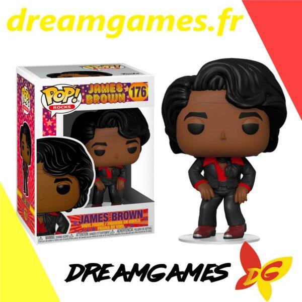Figurine Pop Rocks 176 James Brown
