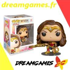 Figurine Pop Wonder Woman with lasso 321