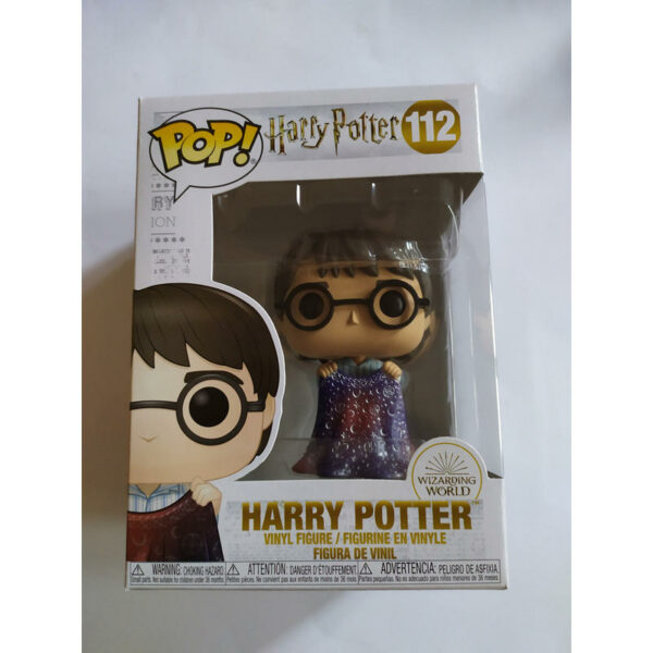 Figurine Pop Harry Potter 112 with Invisibility Cloak