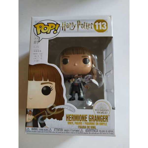 Figurine Pop Harry Potter 113 Hermione Granger with Feather (Not mint) 1