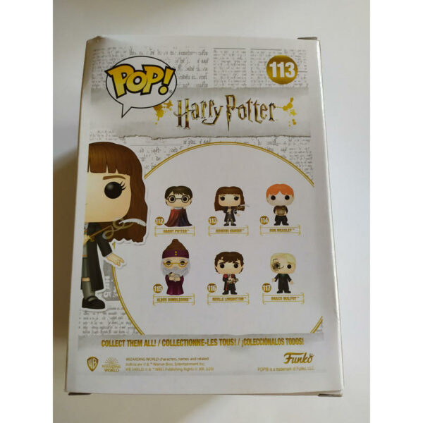 Figurine Pop Harry Potter 113 Hermione Granger with Feather (Not mint) 3