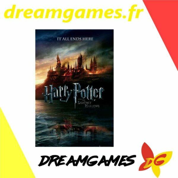 Poster Harry Potter 7 Teaser 61 x 81,5 cm