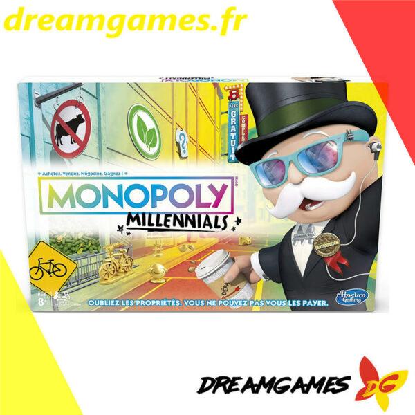 Boîte Monopoly Millennials