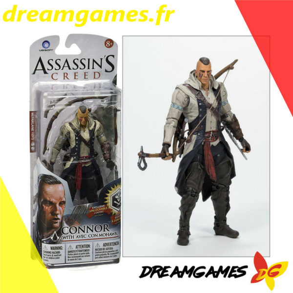Figurine Assassin's Creed Connor with Mohawk McFarlane