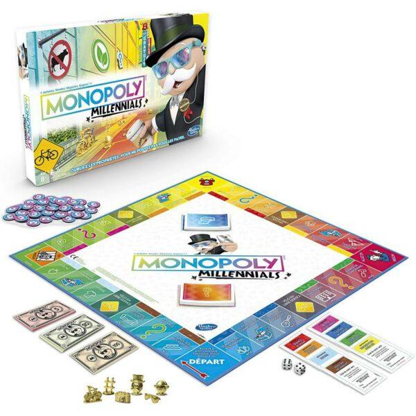 Plateau + Boîte Monopoly Millennials