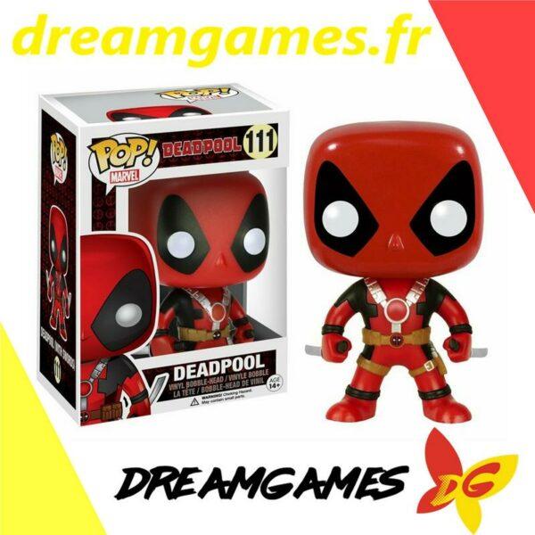 Figurine Pop Deadpool 111 Deadpool two swords
