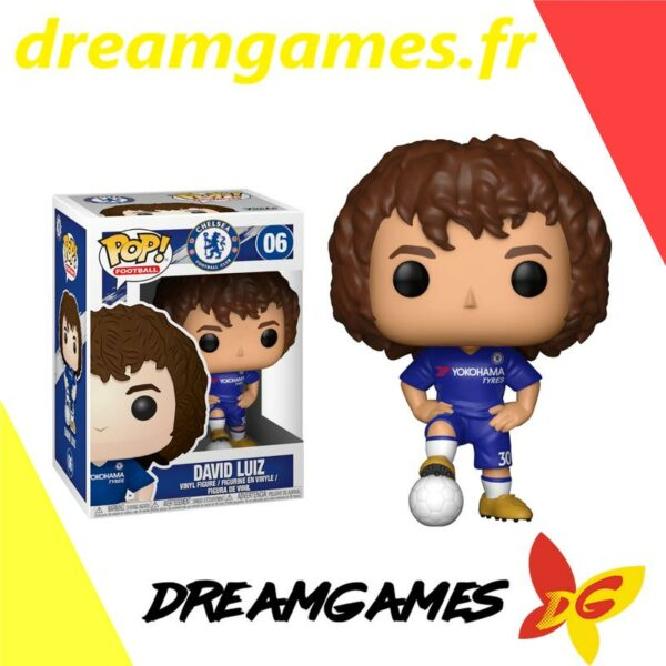 Figurine Pop Football 06 David Luiz