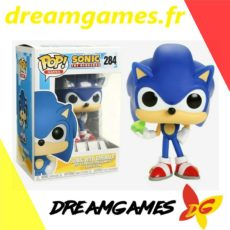 Figurine Pop Sonic with emerald 284