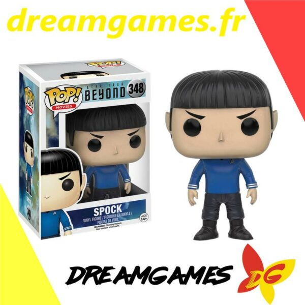Figurine Pop Star Trek Beyond 348 Spock (not mint)