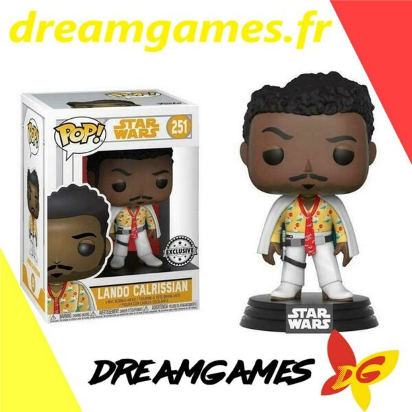 Figurine Pop Star Wars 251 Lando Calrissian