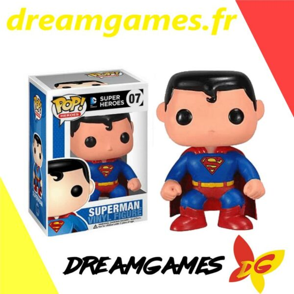 Figurine Pop DC Super Heroes 07 Superman